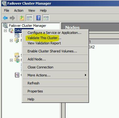 validate_cluster